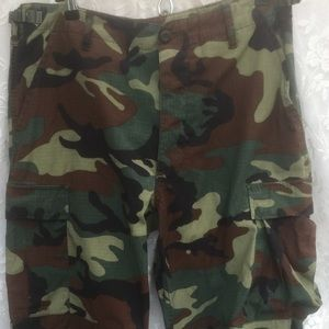 Camouflage summer fatigues green medium regular